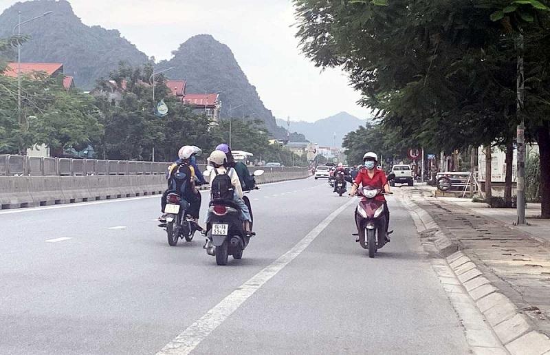 Góc Chụp đường Xá đi Lại ở Cao Bằng